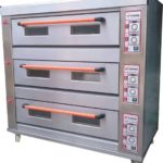 Mesin Oven Roti Gas 3 Rak 9 Loyang (GO39)
