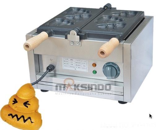 Mesin Waffle Bentuk Poo (MKS-POO2)