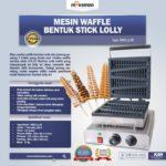 Mesin Waffle Bentuk Stick Lolly (LL40)
