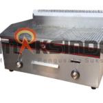 Pemanggang Griddle Flat-Grooved Gas (GG722)