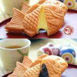 Mesin Kue Waffle Ikan Taiyaki – Gas (TYK02)