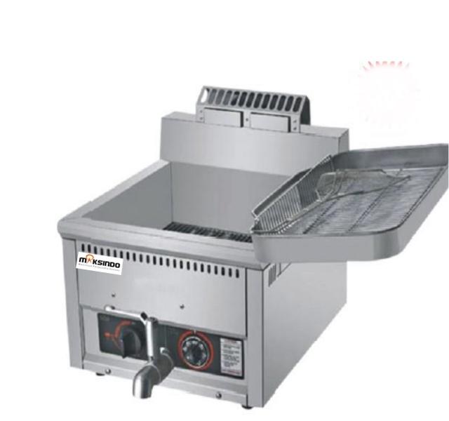 Mesin Luxury Gas Fryer 17 Liter (MKS-G17B)
