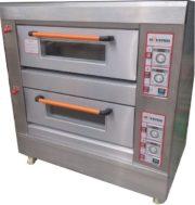 Mesin Oven Roti Gas 2 Rak 4 Loyang (GO24)