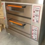 Mesin Oven Roti Gas 2 Rak 4 Loyang (GO24)