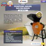 Mesin Penepung Jagung dan Biji-Bijian (MD15)