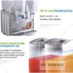 Juice Dispenser 2 Tabung (17 Liter) – ADK17x2
