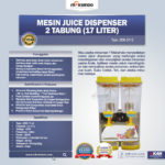 Juice Dispenser 2 Tabung (17 Liter) – ADK17x2