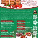 Training Usaha Sambal Nusantara, 17 September 2017