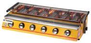 Mesin Pemanggang Sate – BBQ 6 Tungku (Gas)