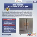 Rice Cooker Kapasitas 70 Kg 24 Rak