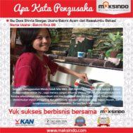 Bakmi Rica 88 : Produksi Mie Makin Cepat Dengan Mesin Cetak Mie Maksindo