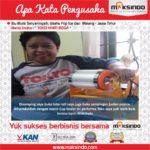Toko Yanti Boga : Performa Toko Saya Jadi Lebih Baik Dengan Cup Sealer Maksindo
