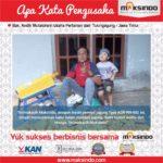 Bpk. Andik Mutatohirin : Puas dengan Mesin Pemipil Jagung Maksindo