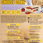 Training Usaha Cheese Cake, 18 November 2017