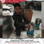 Susu Kedelai Pak Samuji : Menggunakan Mesin Susu Kedelai Maksindo Sangat Terbantu