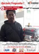 Bakso Pak Ndut : Usaha Saya Semakin Cepat dan Banyak dengan Mesin Cetak Mie Maksindo