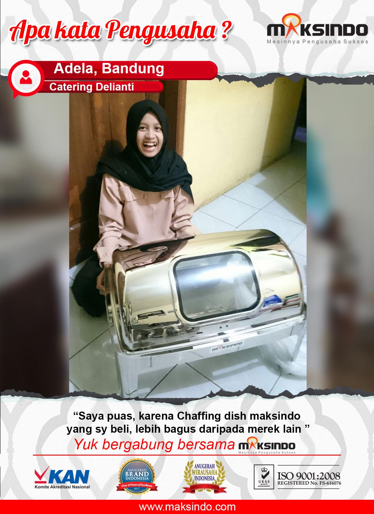 Catering Delianti : Puas Dengan Mesin Chaffing Dish Maksindo