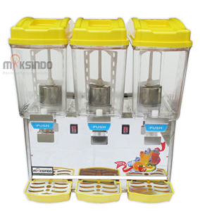 Mesin Juice Dispenser 3 Tabung (17 Liter)-ADK-17×3