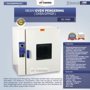 Mesin Oven Pengering (Oven Dryer)-75AS