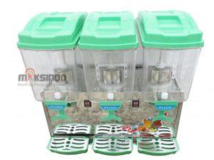 Mesin Juice Dispenser 3 Tabung (17 Liter)-ADK-17×3