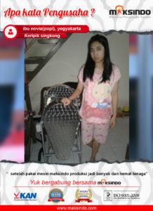 Keripik Singkong : Mesin Perajang Singkong Membantu Produksi Semakin Banyak
