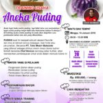 Training Usaha Aneka Puding, 14 Januari 2018