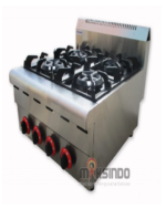 Counter Top 4-Burner Gas Range