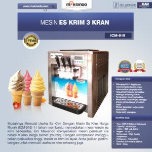 Mesin Es Krim 3 Kran (ICM-919)