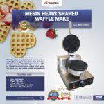 Mesin Heart Shaped Waffle Maker (MKS-HSW01)