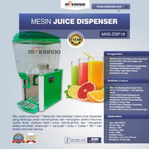 Mesin Juice Dispenser MKS-DSP18