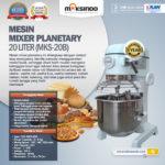Mesin Mixer Planetary 20 Liter (MKS-20B)