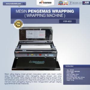 Mesin Pengemas Wrapping