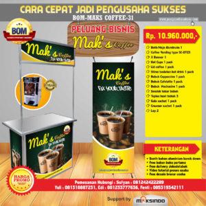 Paket Usaha Mak's Coffe Program BOM