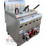 Counter Top 2-Tank 2-Basket Gas Fryer