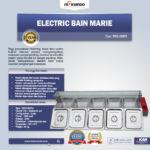 Electric Bain Marie (Penghangat Makanan) MKS-BMR5