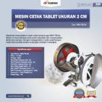 Mesin Cetak Tablet Ukuran 2cm