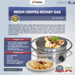 Mesin Crepes Rotary Gas (MKS-CRP60)