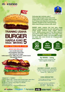 Training Usaha Burger , 10 Maret 2018