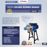 Mesin Giling Bumbu Basah GLB220