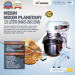Mixer Planetary 15 Liter New High Quality (MKS-BK15M)