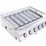 Pemanggang Serbaguna Full Stainless – Gas BBQ Grill 6 Tungku