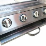 Pemanggang Serbaguna – Gas BBQ Grill 4 Tungku