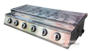 Pemanggang Serbaguna – Gas BBQ Grill 6 Tungku