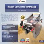 Mesin Cetak Mie Stainless (MKS-180SS)