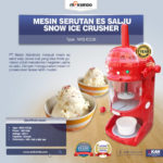 Mesin Serutan Es Salju (Snow Ice Crusher) MKS-ICE38