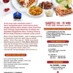 Training Usaha Aneka Snack Jaman Now, 21 Juli 2018