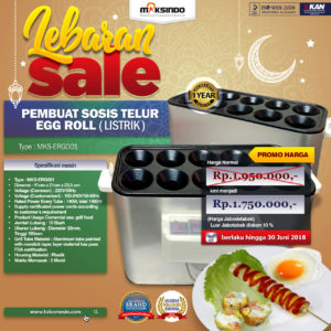 Lebaran Sale Untuk Mesin Pembuat Egg Roll (Listrik)