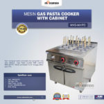 Gas Pasta Cooker With Cabinet MKS-901PC