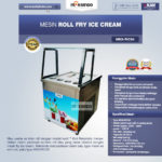 Mesin Roll Fry Ice Cream RIC50