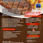 Training Usaha Kreasi Olahan Steak Sabtu, 25 Agustus 2018